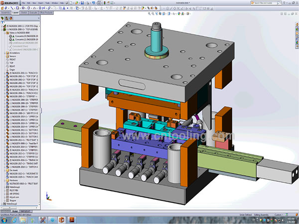 precision tooling assembly